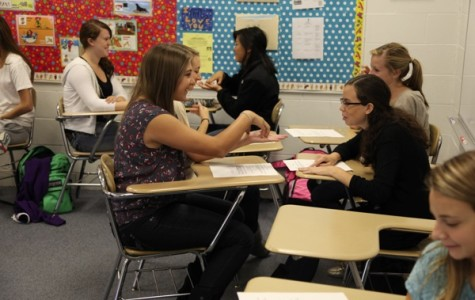 ASL students sign beyond classroom