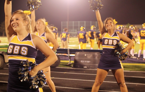 Cheerleaders bring spark, provide energy for South