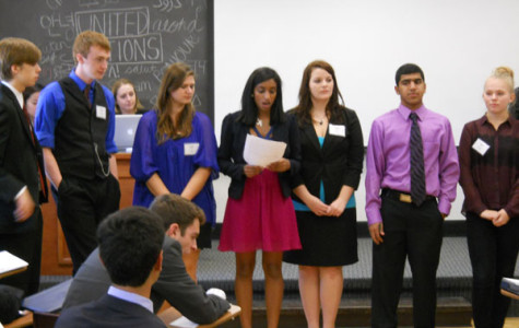 Model United Nations team travels to St. Louis for university symposium
