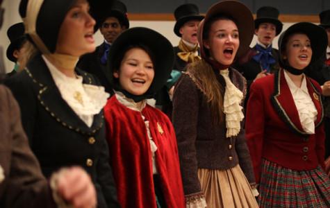 Chambers singers bring joy through carols