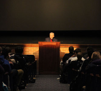 Holocaust speaker teaches through living history