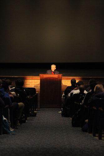 Holocaust speaker teaches through living history