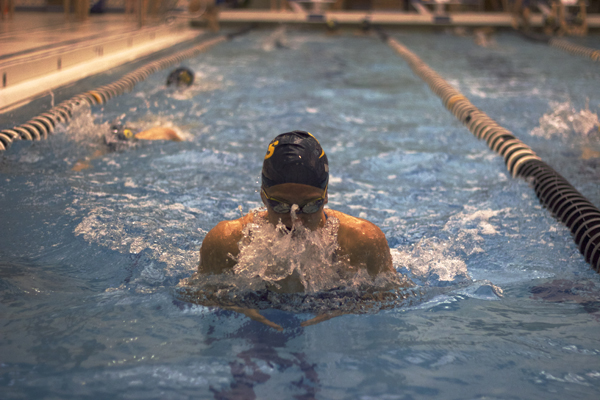 Girls swim to success despite changes to team