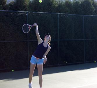 Tennis team star enters final year