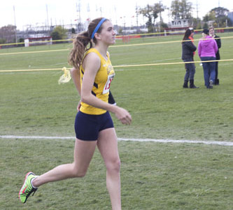 Anne Brennan shines in all-conference