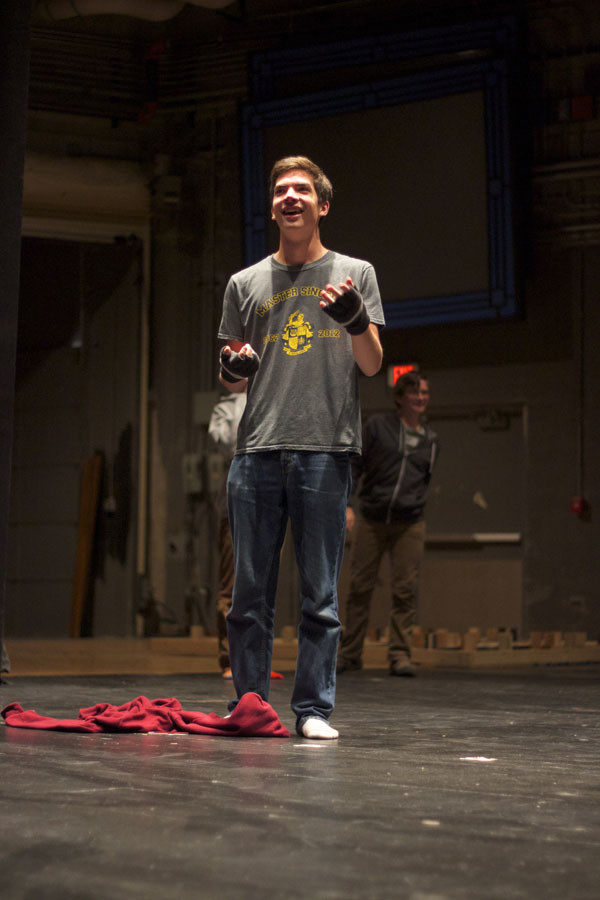 Hebson makes his mark in music, theater programs