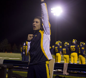Oren Danino becomes first male cheerleader since 1980's
