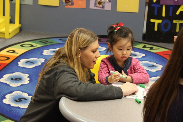 Child development class provides real life experience with kids