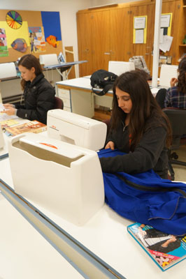 Students get creative with Fashion and Apparel class