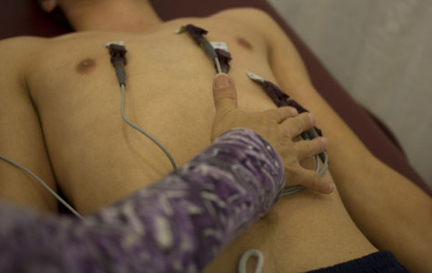 EKGs test students for heart conditions