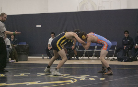 Wrestling capitalizes on individual success for conference victories