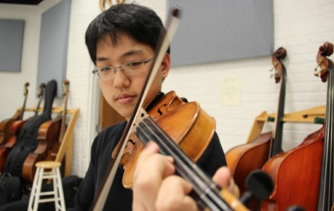 Ahn takes a bow, named ILMEA concertmaster
