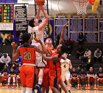 Men's basketball looks to improve on defense for playoffs
