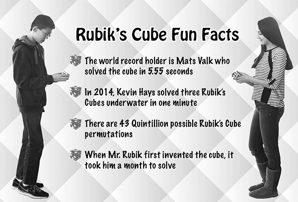 Rubik's Cube Club fulfills passion for puzzles
