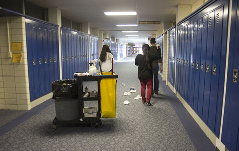 Custodians deserve greater assistance for maintenance of school cleanliness
