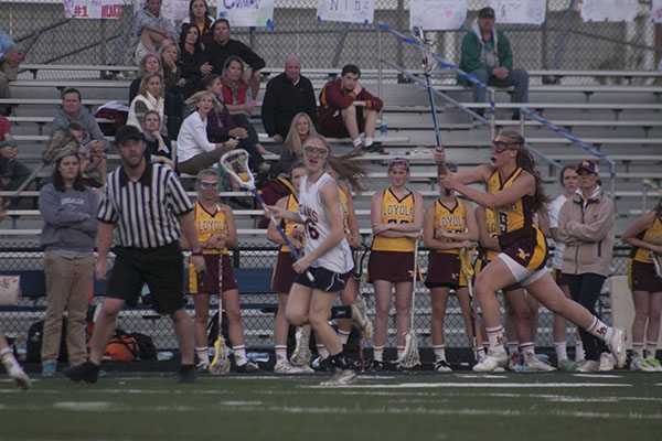 Andersen's lacrosse success takes her to Irish national team