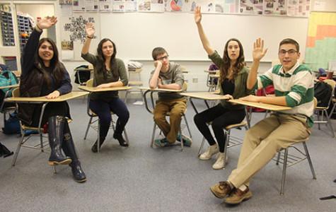 Classroom participation grade, engagement differ