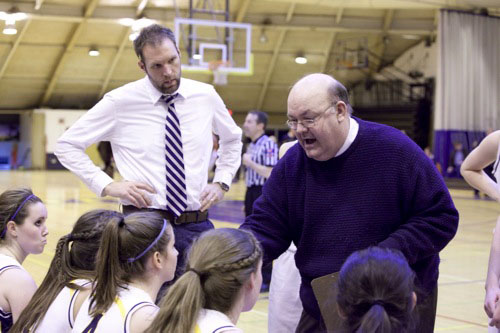 Weissenstein inducted into Illinois Basketball Coaches Association Hall of Fame