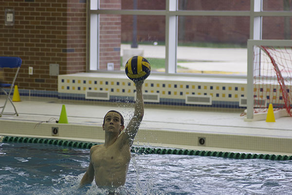Men's Water polo ends season with a loss to New Trier