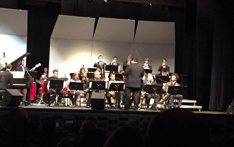 Directed by an ILMEA composer, South students and others from the district perform at the Illinois Music Education Association's (ILMEA) festival. According to Band Director Greg Wojcik, the festival features several types of music from jazz to classical choir.