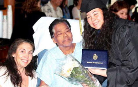 Senior Bryanna Hernandez graduates early, fulfills father's last request