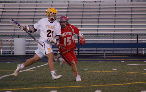 Men's lacrosse finishes season after losing to Glenbard West