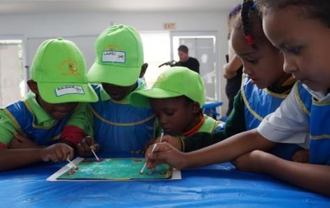 GBS alumna helps construct South African children's museum