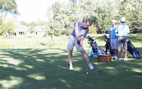 Men's golf wins Conference, looks to do well at State