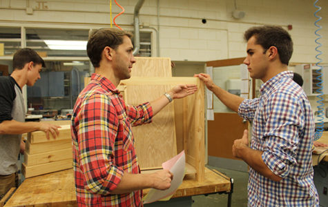 Silca provides a role model for woodworking students
