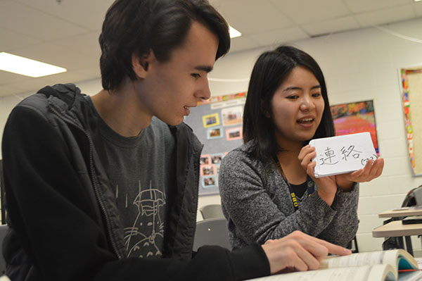 Japanese exchange-teacher immerses self in American culture