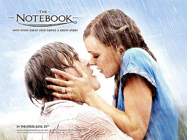 Portraying false romantic expectations, The Notebook follows the story of a young couple that falls in love. It has become one of many romance movies that set unrealistic relationship standards. Photo courtesy of Flickr.