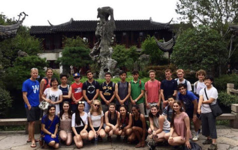 Glenbrook Academy students travel to China and experience new culture