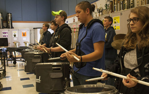 Drumline bonds, increases female involvement