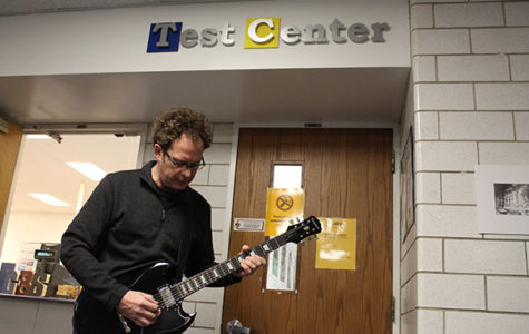 McInerney facilitates Test Center, finds passion for guitar