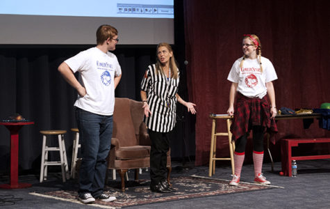 Comedy Sportz calls for audience participation