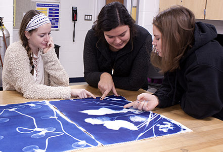 Advanced Photography electives provide students with freedom, opportunities for collaboration