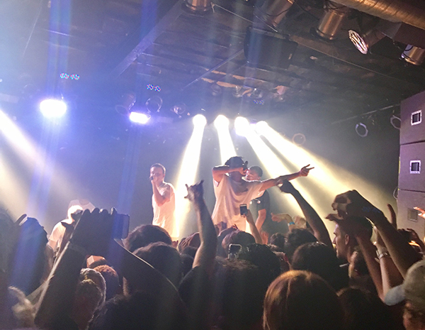 Entertaining the crowd at the Bottom Lounge, Brockhampton performed in Chicago as part of Jennifer's Tour. The band released Saturation III on Dec. 15, 2017 and have received widespread support for the album.