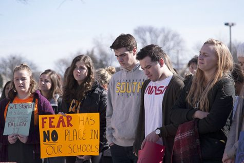 Community reacts to student protests