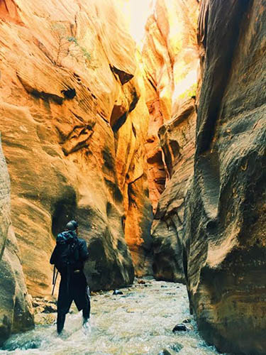 Koo finds meaning in backpacking passion