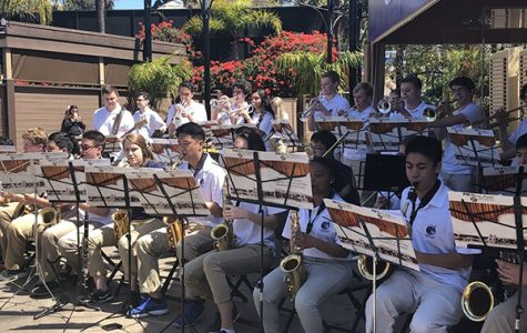 Jazz Band spends spring break in San Diego