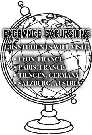 GBS students visit exchange partners in Lyon