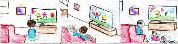 Childhood cartoons shape students' lives into adulthood