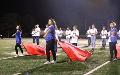 Color Guard strives to create captivating visuals