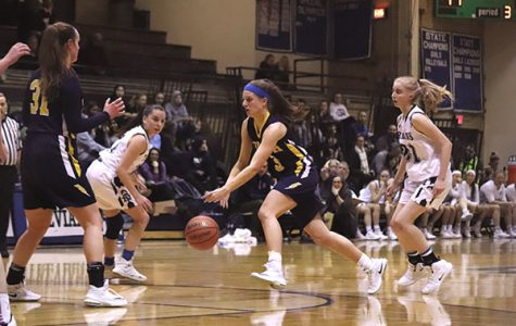 Girls' basketball finds success in coach's last season