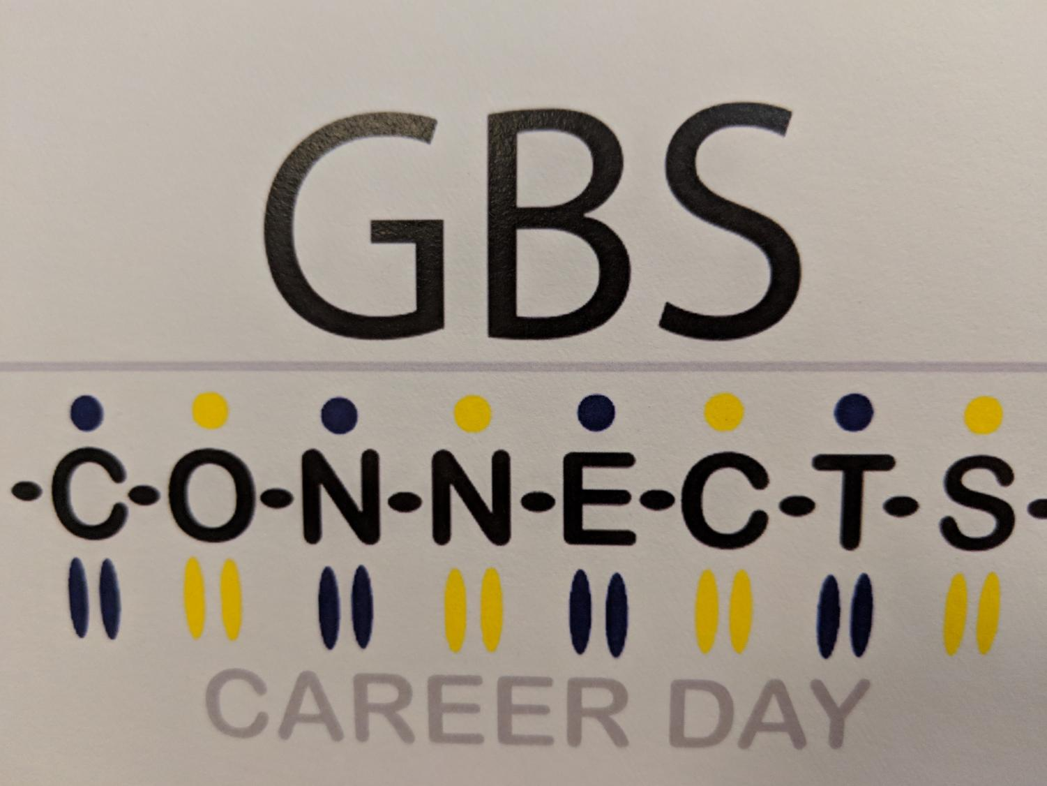 The GBS Connects logo. The event went under a serious of changes this year to increase student engagement.