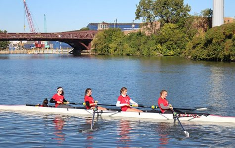 Girls' rowing team continues to grow through first season
