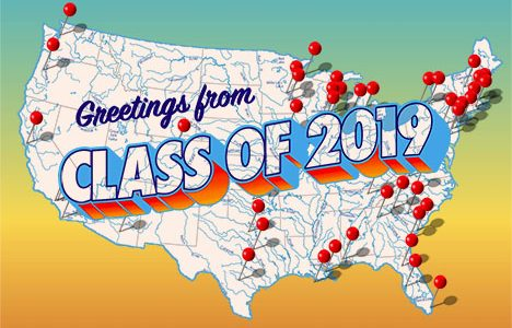 National Map of Post-Graduation Plans