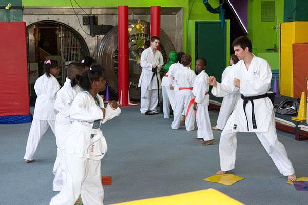 Sensei Smith: English Teacher Austin Smith diversifies his passions by teaching karate to his students. Photo courtesy of Austin Smith