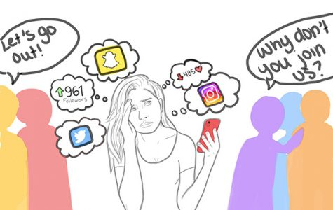 Students reflect on stress caused by social media