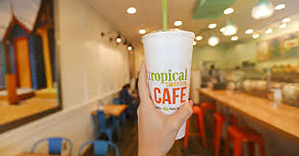 a&eats | Tropical Smoothie Cafe